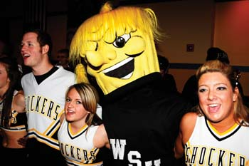 Shockers at MVC Rally